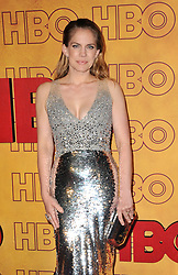 Anna Chlumsky at the 2017 HBO's Post Emmy Awards Reception held at the Pacific Design Center in West Hollywood, USA on September 17, 2017.