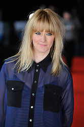 © under license to London News Pictures. Edith Bowman arrives on the red carpet at the premiere of 'Submarine' held at London's BFI on the Southbank.Photo credit should read THEODORE WOOD/LNP