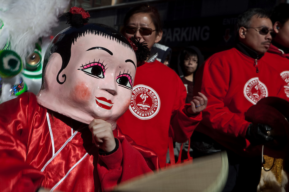 Chinese Lunar New Year Parade, NYC, 2010