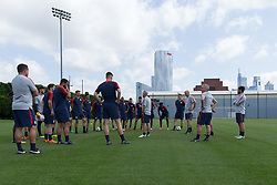 May 23, 2018 - Philadelphia, PA, USA - Philadelphia, PA - May 23, 2018: The USMNT trains at Rhodes Soccer Stadium before an international friendly against Bolivia. (Credit Image: © John Dorton/ISIPhotos via ZUMA Wire)
