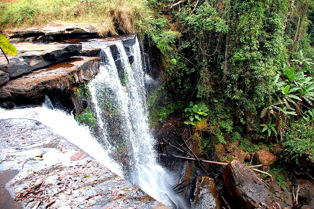 Laos waterfall in Pakse