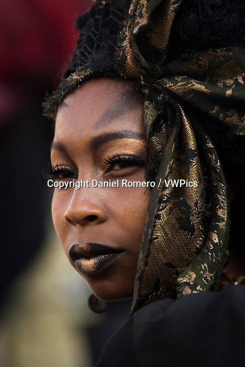 Makeup actress portrait. Ciudad Teatro. Mundo Aventura Park.