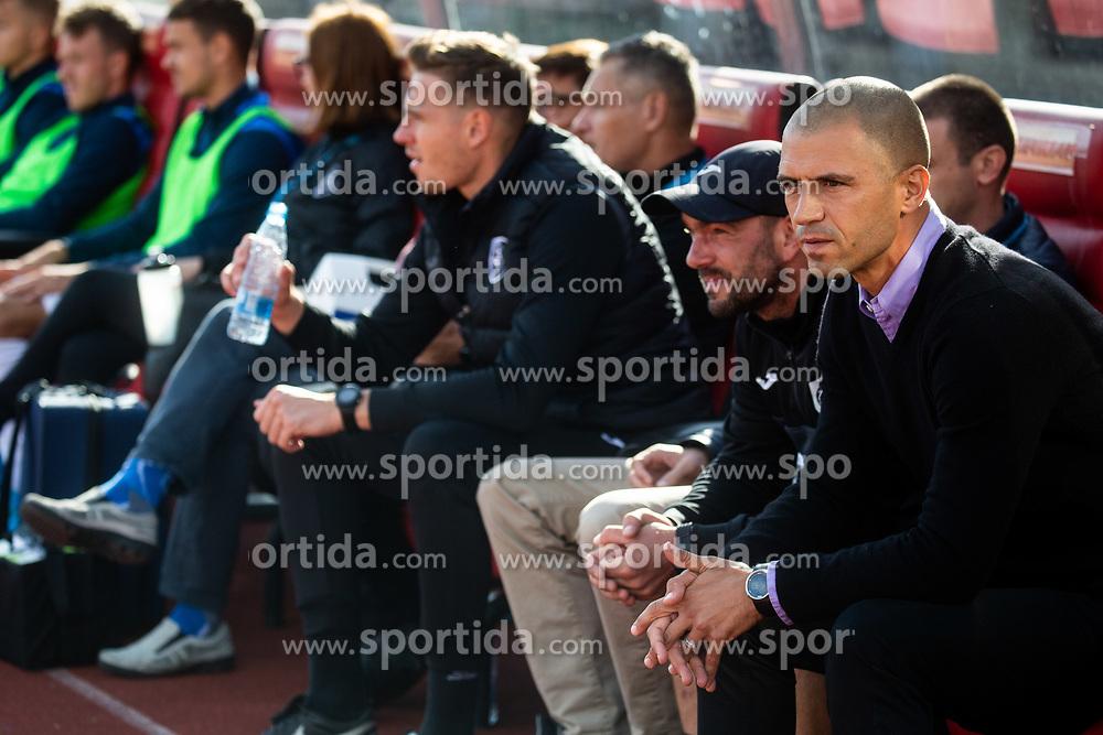 Dejan Grabić, head coach of Bravo during football match between NK Bravo and NK Celje in 13th Round of Prva liga Telekom Slovenije 2019/20, on October 5, 2019 in ZAK stadium, Ljubljana, Slovenia. Photo by Vid Ponikvar / Sportida