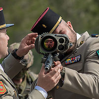 A day with Foreign Legion, one of French elite troops