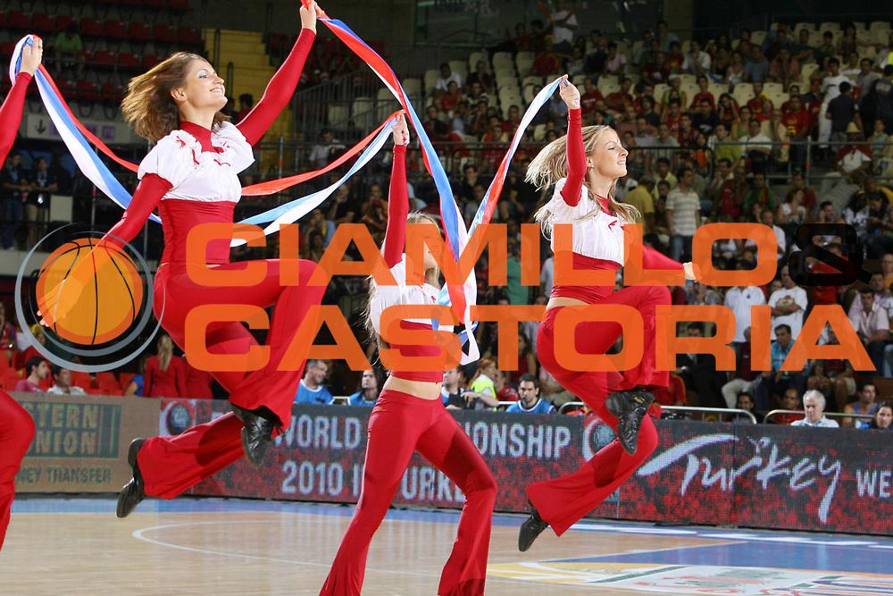 DESCRIZIONE : Siviglia Sevilla Spagna Spain Eurobasket Men 2007 Croazia Portogallo Croatia Portugal <br /> GIOCATORE : Cheerleaders <br /> SQUADRA : <br /> EVENTO : Eurobasket Men 2007 Campionati Europei Uomini 2007 <br /> GARA : Croazia Portogallo Croatia Portugal <br /> DATA : 04/09/2007 <br /> CATEGORIA : <br /> SPORT : Pallacanestro <br /> AUTORE : Ciamillo&amp;Castoria/E.Castoria <br /> Galleria : Eurobasket Men 2007 <br /> Fotonotizia : Sevilla Spagna Spain Eurobasket Men 2007 Croazia Portogallo Croatia Portugal <br /> Predefinita :