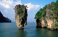 Thailande - <br /> Phangnga province - Ao Phangnga - Ko Tapu (James Bond island)