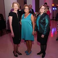 Mary Heger, Museum President Frances Levine, Lisa McLaughlin
