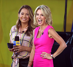 August 10, 2018 - New York City, New York, U.S. - 'GMA' hosts GINGER ZEE and AMY ROBACH from 'The Chainsmokers' performs on 'Good Morning America' held in Central Park. (Credit Image: © Nancy Kaszerman via ZUMA Wire)