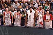 DESCRIZIONE : Campionato 2014/15 Serie A Beko Dinamo Banco di Sardegna Sassari - Grissin Bon Reggio Emilia Finale Playoff Gara4<br /> GIOCATORE : Vitalis Chikoko Panchina<br /> CATEGORIA : Ritratto Esultanza Panchina<br /> SQUADRA : Grissin Bon Reggio Emilia<br /> EVENTO : LegaBasket Serie A Beko 2014/2015<br /> GARA : Dinamo Banco di Sardegna Sassari - Grissin Bon Reggio Emilia Finale Playoff Gara4<br /> DATA : 20/06/2015<br /> SPORT : Pallacanestro <br /> AUTORE : Agenzia Ciamillo-Castoria/GiulioCiamillo
