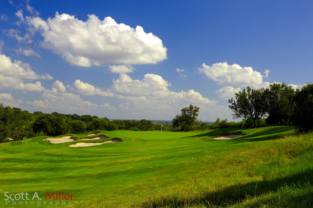 September 7, 2007, San Antonio, Texas; Hole No. 3 at the Briggs Ranch Golf CLub...                ©2007 Scott A. Miller