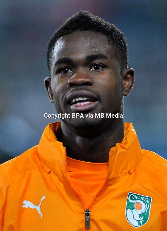 Football Fifa Brazil 2014 World Cup / <br /> Ivory Coast National Team - <br /> Abdul Razak of Ivory Coast