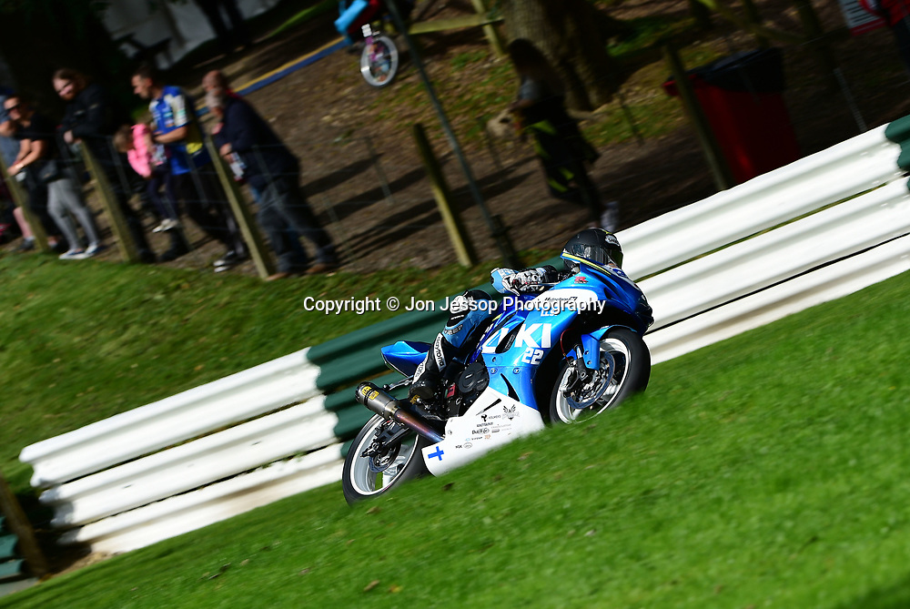 #22 Eemeli Lahti 777RR HRP Suzuki Dickies British Supersport Championship