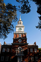 South facade of Independence Hall, Independence National Historical Park, Philadelphia, Pennsylvania, United States of America
