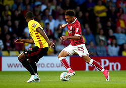 Freddy Hinds of Bristol City runs with the ball - Mandatory by-line: Robbie Stephenson/JMP - 22/08/2017 - FOOTBALL - Vicarage Road - Watford, England - Watford v Bristol City - Carabao Cup