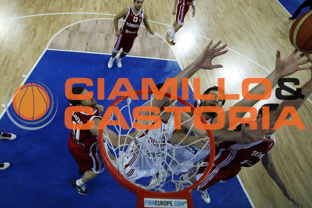 DESCRIZIONE : Wroclaw Poland Polonia Eurobasket Men 2009 Preliminary Round Bulgaria Turchia Bulgaria Turkey<br /> GIOCATORE : Kaloyan Ivanov<br /> SQUADRA : Bulgaria<br /> EVENTO : Eurobasket Men 2009<br /> GARA : Bulgaria Turchia Bulgaria Turkey<br /> DATA : 08/09/2009 <br /> CATEGORIA : rimbalzo super<br /> SPORT : Pallacanestro <br /> AUTORE : Agenzia Ciamillo-Castoria/E.Castoria<br /> Galleria : Eurobasket Men 2009 <br /> Fotonotizia : Wroclaw Poland Polonia Eurobasket Men 2009 Preliminary Round Bulgaria Turchia Bulgaria Turkey<br /> Predefinita :
