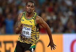 25-08-2015 CHN: IAAF World Championships Athletics day 4, Beijing<br /> Warren Weir JAM - 200 m<br /> Photo by Ronald Hoogendoorn / Sportida