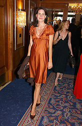 LADY LAURA CATHCART at the Boodles Boxing Ball in aid of the sports charity Sparks  organised by Jez lawson, James Amos and Charlie Gilkes held at The Royal Lancaster Hotel, Lancaster Terrae London W2 on 3rd June 2006.<br /><br />NON EXCLUSIVE - WORLD RIGHTS