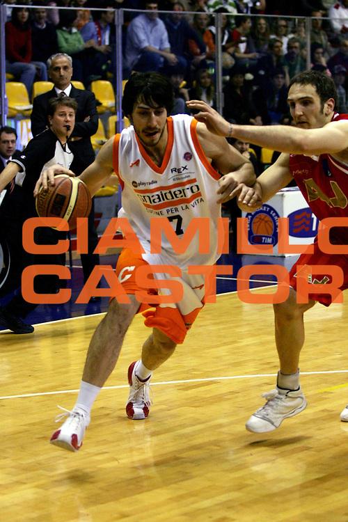 DESCRIZIONE : Milano Lega A1 2006-07 Armani Jeans Milano Snaidero Udine<br /> GIOCATORE : Zacchetti<br /> SQUADRA : Snaidero Udine<br /> EVENTO : Campionato Lega A1 2006-2007<br /> GARA : Armani Jeans Milano Snaidero Udine<br /> DATA : 10/03/2007<br /> CATEGORIA : Penetrazione<br /> SPORT : Pallacanestro<br /> AUTORE : Agenzia Ciamillo-Castoria/L.Lussoso