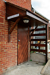 UK ENGLAND HIGH WYCOMBE 15AUG06 - General view of the entrance to the Muslim Education Centre and bookstore in Totteridge, High Wycombe, where Police are investigating an alleged bomb plot...jre/Photo by Jiri Rezac..© Jiri Rezac 2006..Contact: +44 (0) 7050 110 417.Mobile:  +44 (0) 7801 337 683.Office:  +44 (0) 20 8968 9635..Email:   jiri@jirirezac.com.Web:    www.jirirezac.com..© All images Jiri Rezac 2006 - All rights reserved.