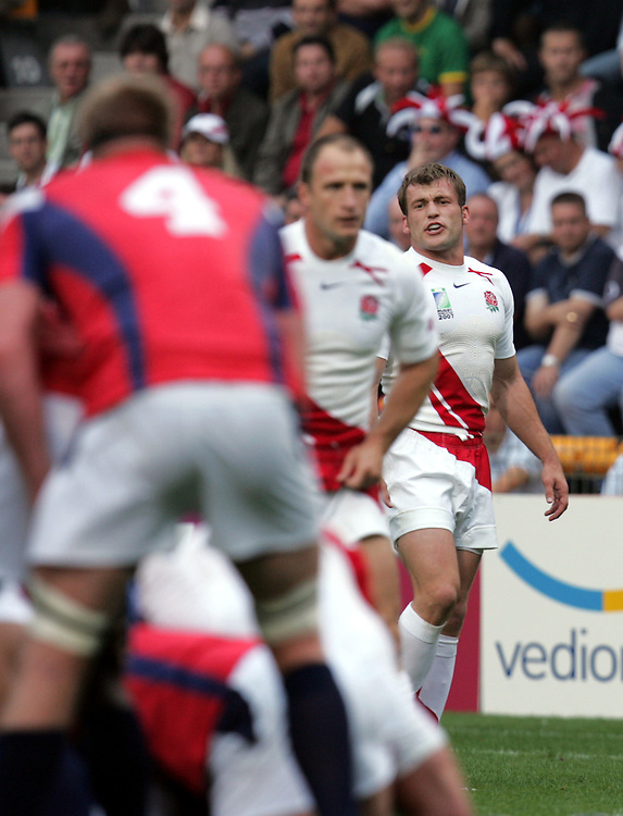 England v USA, Game 4, Rugby World Cup 2007, Lens, France, 8th September 2007.