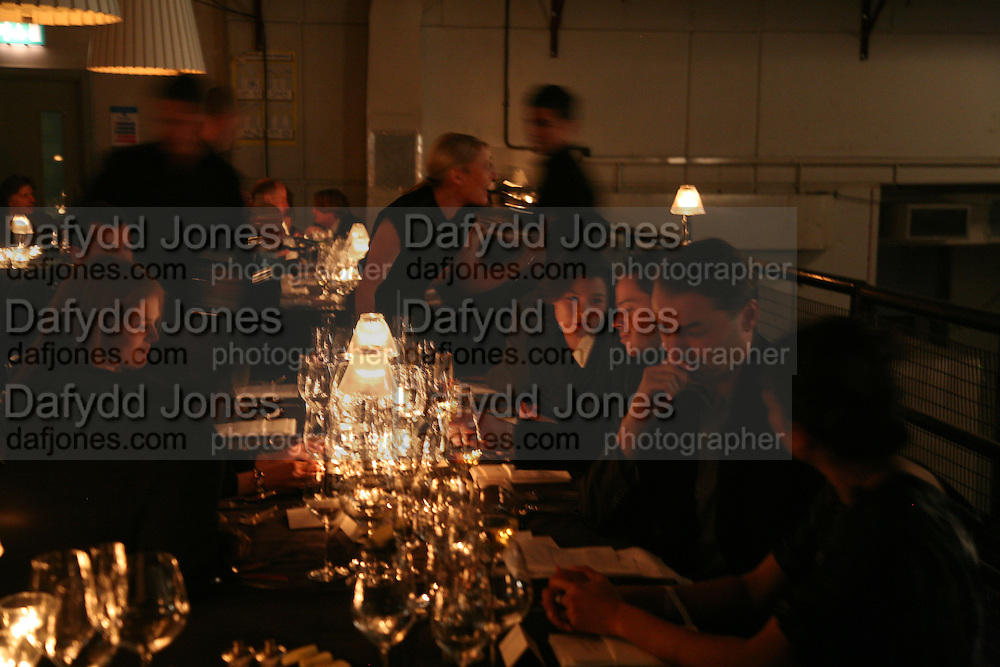 Dinner given by Established and Sons to celebrate Elevating Design.  P3 Space. University of Westminster, 35 Marylebone Rd. London NW1. -DO NOT ARCHIVE-© Copyright Photograph by Dafydd Jones. 248 Clapham Rd. London SW9 0PZ. Tel 0207 820 0771. www.dafjones.com.