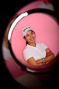 Marina Choi during a portrait session prior to the Symetra Tour's Florida's Natural Charity Classic at the Lake Region Yacht and Country Club on Mar 18, 2013  in Winter Haven, Florida. ..©2013 Scott A. Miller