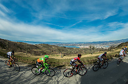 PAULUS Dennis (AUT) of Hrinkow Advarcis Cycling, BAJC Andi (SLO) of BMC Amplatz+, RUMAC Josip (CRO) of Synergy Baku Cycling Project during the UCI Class 1.2 professional race 4th Grand Prix Izola, on February 26, 2017 in Izola / Isola, Slovenia. Photo by Vid Ponikvar / Sportida