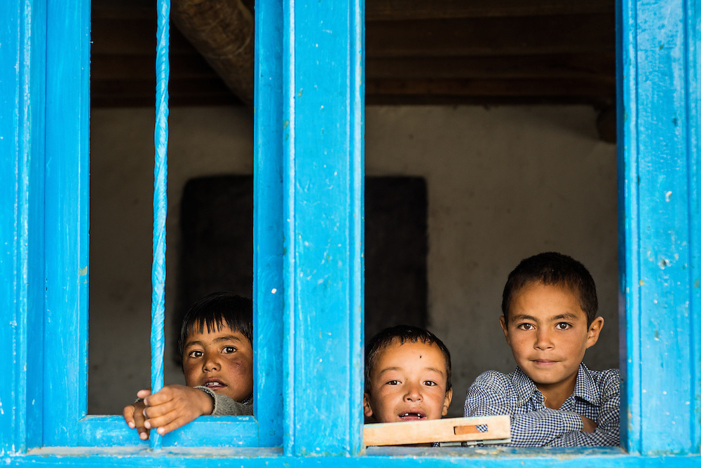 Managed to interrupt the on-going class and created a happiness eruption among kids,  when I entered this school in Khangral, a small little town next to Kargil in Jammu &amp; Kashmir. <br /> <br /> Nikon D800 | Nikkor 50mm