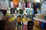 Textile shop.
