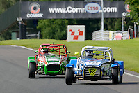 #15 David Yates Caterham Supersport during the ITC Compliance Caterham Supersport Championship at Oulton Park, Little Budworth, Cheshire, United Kingdom. August 13 2016. World Copyright Peter Taylor/PSP.
