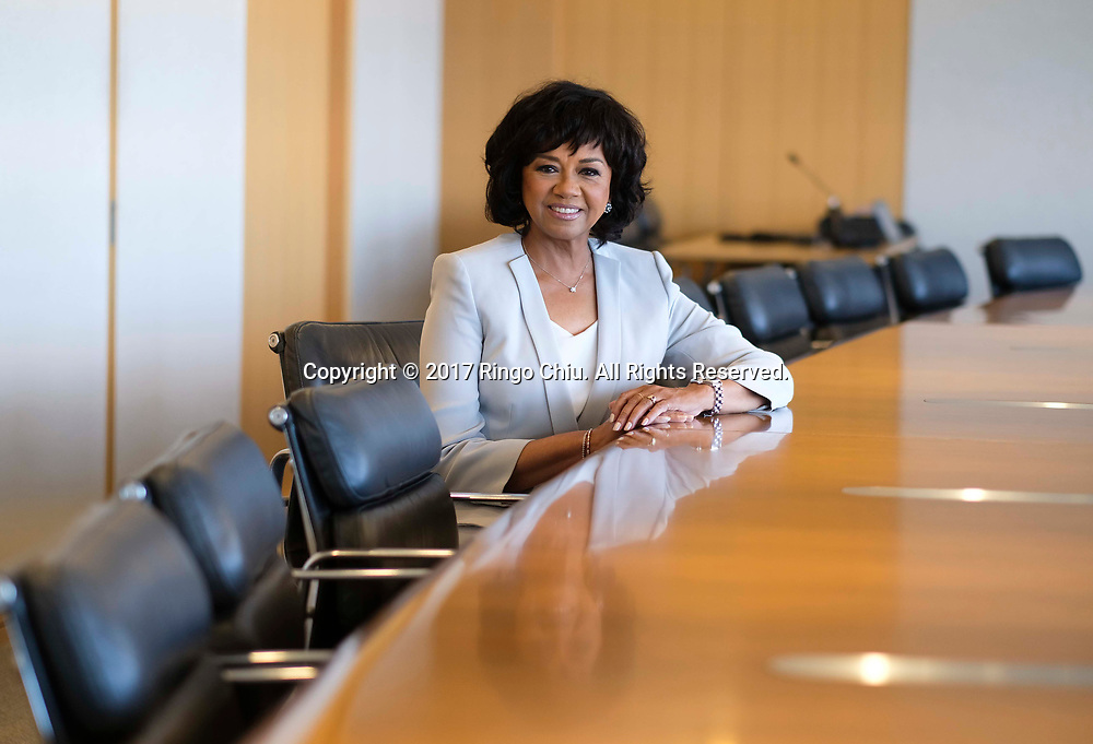 Cheryl Boone Isaacs, president of Academy of Motion Picture Arts &amp; Sciences(Photo by Ringo Chiu)<br /> <br /> Usage Notes: This content is intended for editorial use only. For other uses, additional clearances may be required.