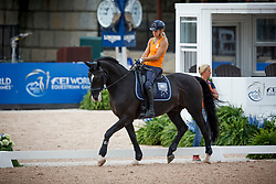 Den Dulk Nicole, NED, Wallace NOP<br /> World Equestrian Games - Tryon 2018<br /> © Hippo Foto - Sharon Vandeput<br /> 15/09/2018
