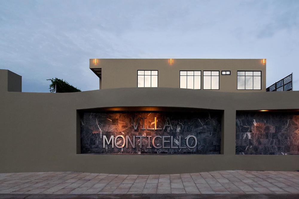 Architecture shots of Villa Monticelli, Accra, Ghana.