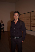 ROB LOWE, A Living man declared Dead and Other Chapters. Taryn Simon. Tate Modern, London. 24 May 2011. <br /> <br />  , -DO NOT ARCHIVE-© Copyright Photograph by Dafydd Jones. 248 Clapham Rd. London SW9 0PZ. Tel 0207 820 0771. www.dafjones.com.