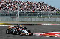 Nico Hulkenberg (GER) Sahara Force India F1 VJM07.<br /> United States Grand Prix, Sunday 2nd November 2014. Circuit of the Americas, Austin, Texas, USA.
