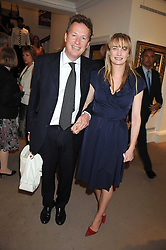 ORLANDO & CLEMENTINE FRASER at the annual Sotheby's Summer Party held at their auction rooms 34-35 New Bond Street, London W1 on 19th June 2008.<br />