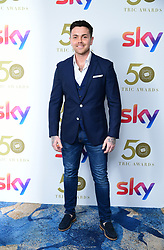 Ray Quinn attending the TRIC Awards 2019 50th Birthday Celebration held at the Grosvenor House Hotel, London.