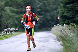 23.07.2016, Kals, AUT, Grossglockner Ultra Trail 2016, im Bild führende im Grossglockner Ultra Trail Fori Katia (ITA) // during the 2016 Grossglockner Ultra Trail. Kals, Austria on 2016/07/23. EXPA Pictures © 2015, PhotoCredit: EXPA/ Johann Groder