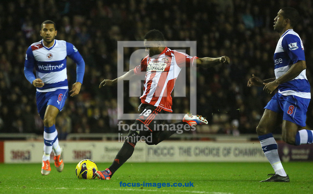 Picture by Paul Gaythorpe/Focus Images Ltd +447771 871632.11/12/2012.Stephane Sessegnon of Sunderland during the Barclays Premier League match at the Stadium Of Light, Sunderland.