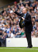 Photo: Jed Wee/Sportsbeat Images.<br /> Scotland v Lithuania. UEFA European Championships Qualifying. 08/09/2007.<br /> <br /> Scotland manager Alex McLeish.
