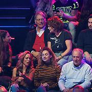NLD/Amsterdam/20181107 - Opname Boxingstars 2018, 2e aflevering, vader Ron Brandsteder, moeder Yvonne Baggen en broer Bob