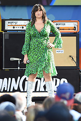 August 10, 2018 - New York, NY, USA - August 10, 2018 New York City..Emily Warren with The Chainsmokers performing on Good Morning America's Summer Concert Series in Central Park on August 10, 2018 in New York City. (Credit Image: © Kristin Callahan/Ace Pictures via ZUMA Press)