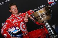 Scott Dixon, IRL trophy shoot, Infineon Raceway, Sonoma, CA USA 8/25/06