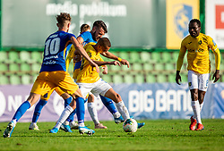 Almin Kurtovič of Bravo during football match between NK Bravo and NK Celje in 13th Round of Prva liga Telekom Slovenije 2019/20, on October 5, 2019 in ZAK stadium, Ljubljana, Slovenia. Photo by Vid Ponikvar / Sportida