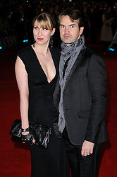Karoline Copping and Jimmy Carr attends The Woman in Black - World Premiere held at the Royal Festival Hall, London, Tuesday January 25, 2012. Photo By i-Images