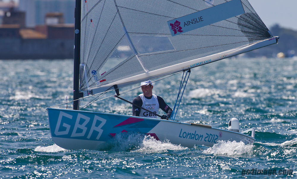 Finn	 GBR	Ainslie Ben<br /> <br /> 2012 Olympic Games <br /> London / Weymouth