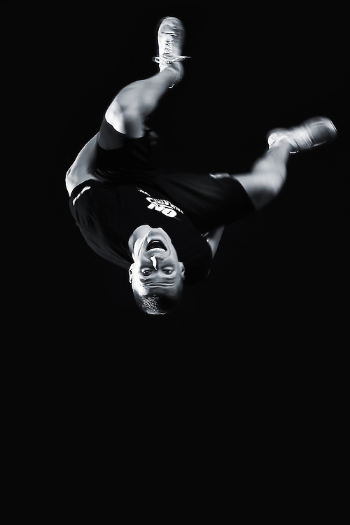 Jack (Jakk) Lowry, sponsored athlete for ON Optimum Nutrition supplements as a Free runner, Cheerleader and fitness model