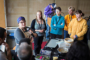 Kristina Stanley from Abaaso speaks during the Cap Times Idea Fest 2018 at the Pyle Center in Madison, Wisconsin, Saturday, Sept. 29, 2018.