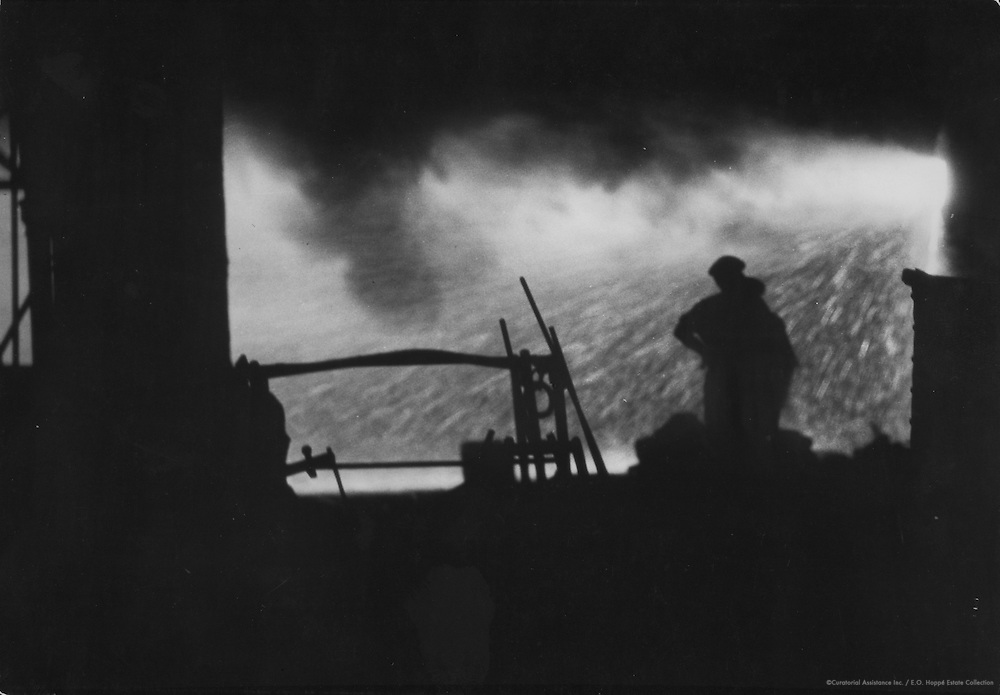 Hadfield Steel Works Silhouette, Sheffield, Yorkshire, England, 1925