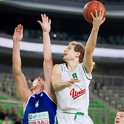 20130113: SLO, Basketball - ABA League, KK Union Olimpija vs KK Zadar